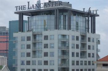 Bán gấp căn hộ cao cấp Lancaster, Quận 1, 86m2, 2PN, tầng cao, nội thất cao cấp. Cho thuê ngay