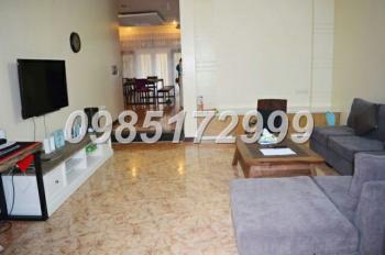 Cho thuê biệt thự 4 phòng ngủ ở khu đô thị Nam Thăng Long - Ciputra Hà Nội. LH 0985 172 999