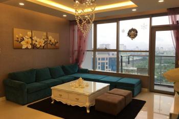 Cho thuê chung cư Thăng Long Number One căn góc DT 143m2, full nội thất, LH 0982.402.115
