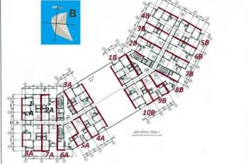 Chính chủ cần bán căn hộ 1101B toà CT1B, căn góc 3 phòng ngủ giá 1,65 tỷ bao trọn gói sang tên
