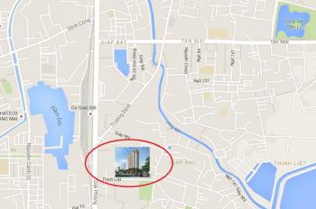 Bán liền kề 89 Thịnh Liệt, liền kề Hoàng Mai, 55tr/m2