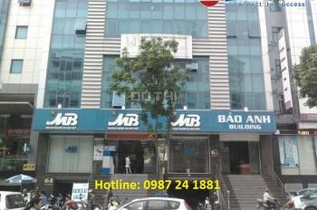 Cho thuê văn phòng tòa nhà Bảo Anh, Trần Thái Tông, DT 80m2 - 120m2 - 150m2. LH 0967.563.166