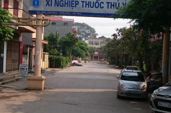 Bán đất thổ cư SĐCC, mặt đường QL32, thị trấn Trạm Trôi, Hoài Đức, Hà Nội
