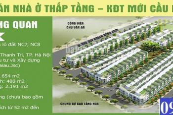 Bán đất biệt thự, liền kề tại khu đô thị Cầu Bươu Quận Thanh Trì Hà Nội được tự xây dựng