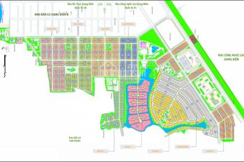 Bán đất nền đối diện khu công nghiệp Giang Điền, giá 550 triệu/120m2, sổ riêng, 0908.434.814