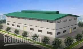 Cho thuê kho xưởng đang xây dựng mặt tiền xe container ra vào 24\24