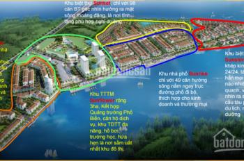 Chính chủ cần bán bớt 1 lô đường 15m tại dự án Marine, chỉ 14.5 triệu/m2. LH: 0909 877 059