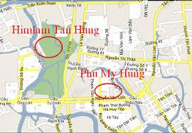 Bán gấp nhà phố Him Lam. 5x20m xây dựng 1 hầm, 1 trệt 4 lầu thang máy, mặt tiền D1, 0901414778