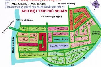 Cần bán một số nền vị trí đẹp dự án Phú Nhuận, Phước Long B, Quận 9, giá từ 34 tr/m2