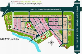 Bán lô đất ngang 8m, hợp đồng Địa Ốc 3, dự án Phát Triển Nhà Quận 3, Phú Hữu, Q9, LH: 0914.920.202