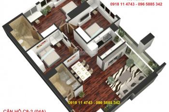 Bán căn 132m2 Golden Land Tây tứ trạch ở ngay, giá ưu đãi nhất từ 26.5tr/m2. LH: 0981152882