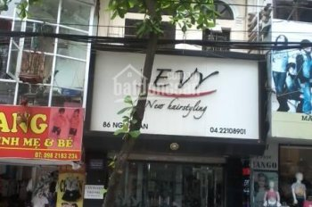 Bán nhà mặt phố Nghĩa Tân, Cầu Giấy, Hà Nội. Vị trí đẹp phù hợp vừa ở vừa cho thuê cửa hàng