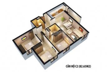 Cho thuê căn hộ 3 phòng ngủ, chung cư Gamuda - Hoàng Mai - Hà Nội, giá 6tr/tháng – 0919.676.873
