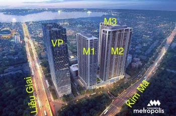Chuyên bán chuyển nhượng Vinhomes Metropolis Liễu Giai. Cập nhật các căn bán lại 1-4 phòng ngủ