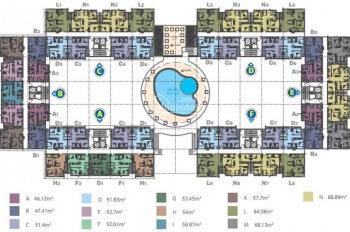 Định cư bán gấp căn hộ 35 Hồ Học Lãm, nhận nhà ngay 58m2, giá 1,45 tỷ, liên hệ 0909146064