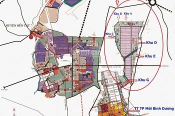 150m2 tại khu đô thị thành phố mới Bình Dương, sổ đỏ thổ cư, sát khu hành chính
