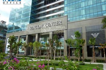 Cho thuê văn phòng trọn gói Quận 1, cao ốc Vincom Center đường Lê Thánh Tôn, 3 người làm, 16.5tr