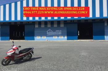 Cho thuê nhà xưởng KCN Nam Tân Uyên, Bình Dương, DTKV 21.000m2 DTXD: 15.000m2. LH: 0908.561.228