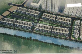 Bán liền kề Tây Nam Linh Đàm, 55tr/m2, liền kề Tây Nam Linh Đàm, 0947.757.495