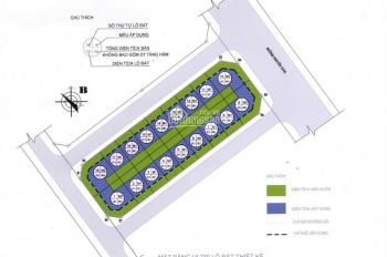 Chính chủ cần bán liền kề khu phố Nguyễn Tuân Diện tích 97.5m2, mặt tiền 6.5m xây dựng 05 tầng