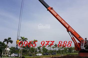 Hình ảnh khởi công xây dựng biệt thự nhà vườn dự án Vườn Cam Vinapol, Vân Canh, Hoài Đức 0965977888