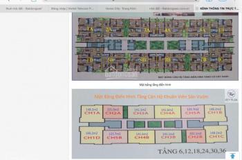Cần bán gấp căn CH5 B DT 123.7m2 chung cư CT4 Vimeco, giá bán nhanh 29.5/m2