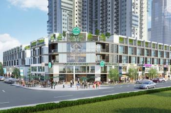 Cho thuê mặt bằng kinh doanh dãy nhà phố thương mại thuộc khu đô thị Gamuda Gadens. LH 0368233002