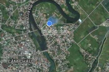 Bán nhanh 502m2 lô góc Cẩm Châu, view ruộng tuyệt đẹp giá tốt, LH 0907791023