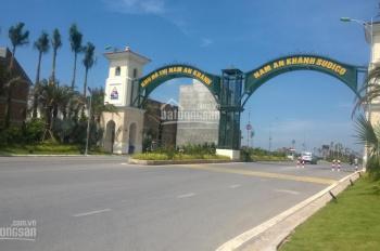 Bán gấp lô đất liền kề đô thị Nam An Khánh, diện tích 188,5m2, giá 45 triệu/m2. Vị trí đẹp KD được