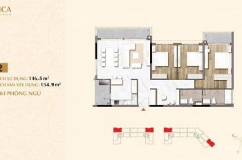 Bán gấp căn hộ chung cư Sarica thuộc khu đô thị Sala quận 2, tphcm