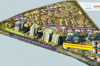Cho thuê ngay căn chung cư cao cấp The One P. Yên Duyên, Q Hoàng Mai, HN - LH: 0368233002
