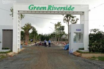 Đất nền Green Riverside, Nhà Bè, gần ngay trung tâm, đất sổ đỏ, xây tự do. LH chủ đầu tư