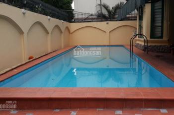Cho thuê biệt thự hồ bơi 4 tầng khu Tô Ngọc Vân, Quảng An, Tây Hồ, Hà Nội, 0981222026