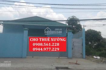 Cho thuê nhà xưởng đường TX25, P. Thạnh Xuân, quận 12, DT: 600m2 giá 22tr/tháng. LH: 0908.561.228