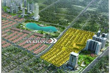 Bán lô BT An Khang Villa, Nam Cường, 225m2 đường 17.5m, kinh doanh cực tốt