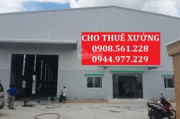 Cho thuê nhà xưởng đường Lê Văn Khương, quận 12, DT: 1200m2, giá 50tr/tháng. LH: 0937.388.709
