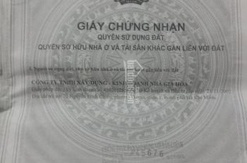 Cần bán đất nền khu dân cư cao cấp Gia Hòa, đường Đỗ Xuân Hợp, Quận 9, TP HCM diện tích 137.56m2