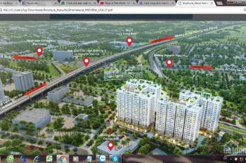 Chính chủ bán ô kiot 17-ct2a cạnh góc dự án Hà Nội Homeland, Long Biên, giá 45, LH: 0989.580.198