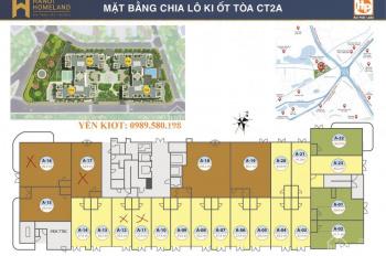 Bán suất ngoại giao ki ốt Hà Nội Homeland Long Biên, giá tốt nhất thị trường, LH: 0989.580.198