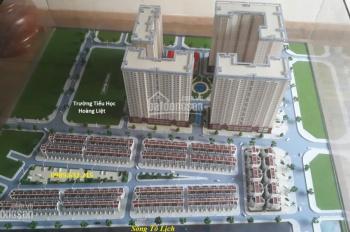Bán 2 suất ngoại giao LK Tây Nam Linh Đàm, DT 80m2 và 100m2, mặt đường 25m và 13m giá rẻ