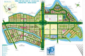 Bán đất đường 3A KDC 13 E Intresco đối diện công viên chưa có móng bán gấp