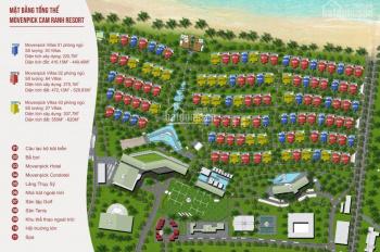 Bán biệt thự Movenpick Bãi Dài Cam Ranh gần Nha Trang, giá 4,9 tỷ tăng thêm 1 căn hộ. LH: 098685346