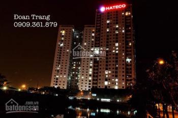 Bán cắt lỗ 2 căn hộ Hateco Hoàng Mai B15 và A10 giá 1 tỷ 650, diện tích 96m2. 0909.361879