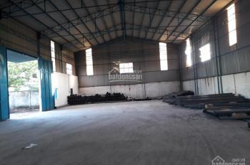 Cho thuê nhà xưởng mặt tiền đường Nguyễn Thị Lắng, Củ Chi