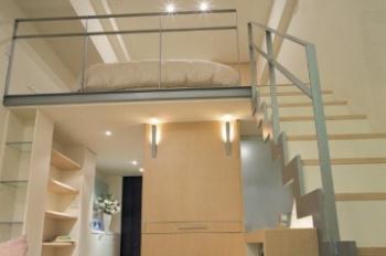 Phòng đẹp 25m2, có gác đầy đủ tiện nghi mới xây đường Trần Xuân Soạn