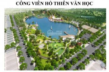 Bán suất ngoại giao, BT An khang villa Dương Nội, lô góc 3 mặt thoáng gần công viên, siêu thị Aeon