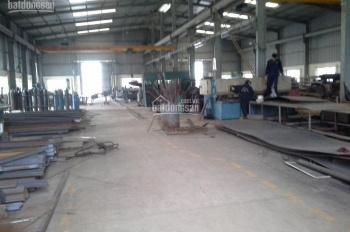 Cho thuê kho, xưởng cơ khí mới 100% Tân Tiến, Văn Giang gần Ecopark, DT 1500 đến 10000m2