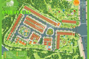 CK 80% lô góc biệt thự dự án Eco Town Phúc Khang, Hóc Môn 8 x 15.3m giá sau CK chỉ 500 triệu