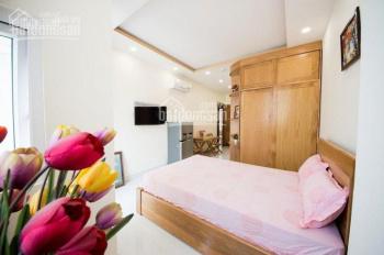 Chính chủ cho thuê CH studio giá rẻ, full tiện nghi, mới 100%, có ban công LH 0938.123.507 Mr Hậu