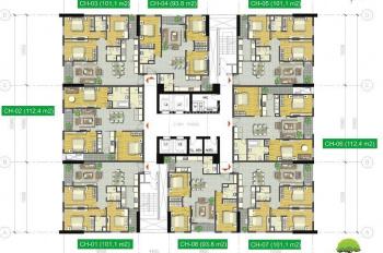 Bán căn Duplex chung cư N02T3 Ngoại Giao Đoàn căn 04 view cầu Nhật Tân 188m2. LH 098.363.8558